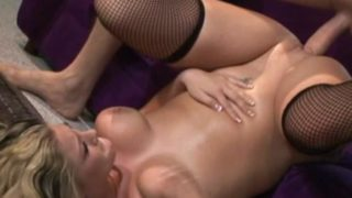 Blond Gal Bailey Will Get Her Gullet Banged