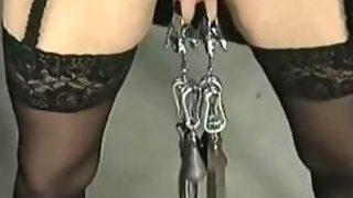 Mit Gewichten Bondage & Discipline Restrain Bondage Victim Female Dom Supremacy