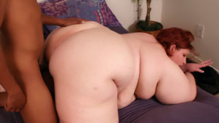 Immense Bootie Bbw Does Multiracial