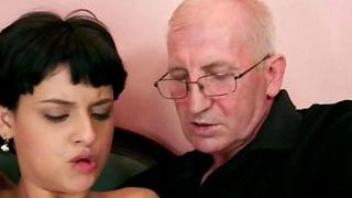 Teenager Romping With A Kinky Elder Fellow