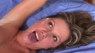 Saucy Mega-bitch Kelly Getting Facehole Jizm Packed Via A Ample Knob