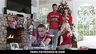Familystrokes – Screwing My Sista Right Through Vacation Christmas Photos