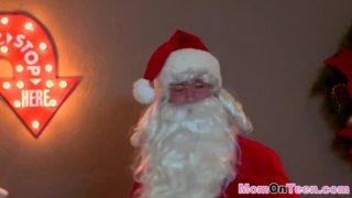 Sneaky Santa Introduced His Rock Rock-hard Boner As A Bounty